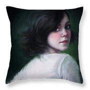 Almost Ready Throw Pillow by Talya Johnson