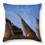 Alohomora Throw Pillow