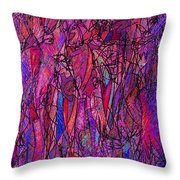 Alone In A Crowd Throw Pillow