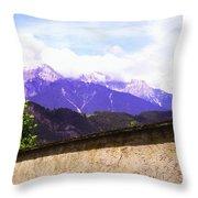 Alpine Wall Throw Pillow