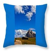 Alps II Throw Pillow