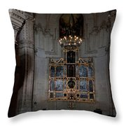 Altar Shadowed And Shining Throw Pillow