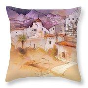 Altea La Vieja In Spain 11 Throw Pillow