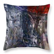 Altered Second Movements Throw Pillow