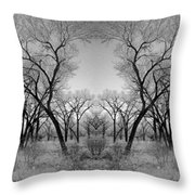 Altered Series - Bare Double Throw Pillow