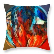 Alternate Realities 1 Throw Pillow by Angelina Vick