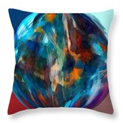 Alternate Realities 4 Throw Pillow by Angelina Vick