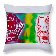 Alternative Hello Kitty Throw Pillow