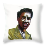 Althea Gibson Throw Pillow