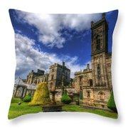 Alton Towers Throw Pillow