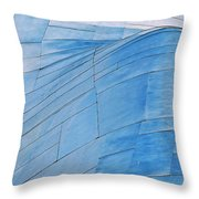 Aluminum Wave Throw Pillow