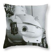 Alvin, Deep Sea Ocean Research Vessel Throw Pillow