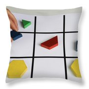 Alzheimers Puzzle Throw Pillow