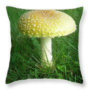 Amanita Muscaria - Guessowii Mushroom Throw Pillow