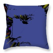 Amazing Grace And Elvis Throw Pillow