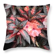 Amazing Hues Of Nature Throw Pillow