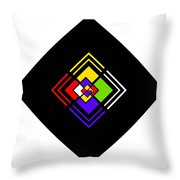 Amazing Space Throw Pillow