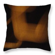 Amber Offspring Throw Pillow