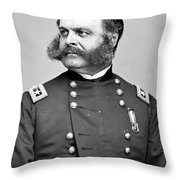 Ambrose Burnside, Union General Throw Pillow