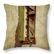 Amelia's Window Throw Pillow