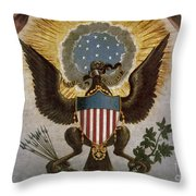 America - Great Seal Throw Pillow