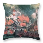 American Civil War, Great Fight Throw Pillow