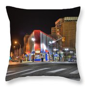American Coney Island Throw Pillow