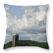 American Country Life Throw Pillow