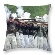 American Firing Line Throw Pillow
