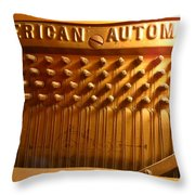 American Gold Automatic Throw Pillow