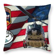 American Hero 1 Throw Pillow