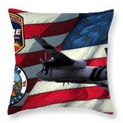 American Hero 2 Throw Pillow