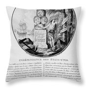 American Independence Throw Pillow