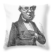 American Schoolmaster Throw Pillow