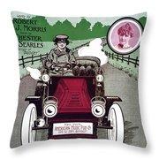 American Song Sheet, 1904 Throw Pillow