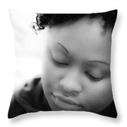 Amina At Moliere Throw Pillow