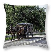 Amish Country - Intercourse Pennsylvania Throw Pillow