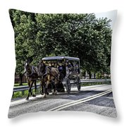 Amish Country - Intercourse Pennsylvania Throw Pillow