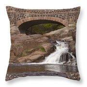 Amity Creek Scene 9 Throw Pillow