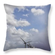 Amongst The Clouds Throw Pillow