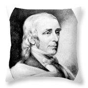 Amos Bronson Alcott, American Educator Throw Pillow