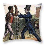An Abolitionist Throw Pillow