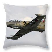 An Aero L-39za Albatros Trainer Throw Pillow