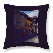 An Afternoon In Germany  Throw Pillow