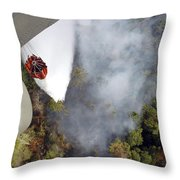 An Air National Guard Unit Provides Air Throw Pillow