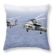 An Airborne Change Of Command Throw Pillow