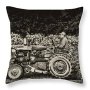 An American Farmer Throw Pillow