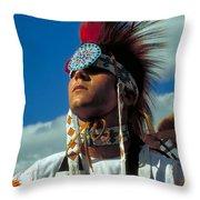 An American Indian No1 Throw Pillow