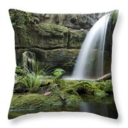 An Aquarium In Tennessee Throw Pillow