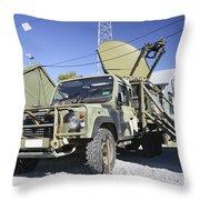 An Australian Defense Force Satellite Throw Pillow